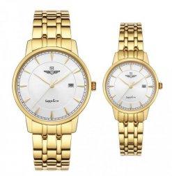 Đồng hồ cặp đôi SRWATCH SR1079.1402TE trắng
