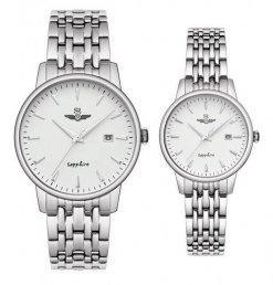 Đồng hồ cặp đôi SRWATCH SR1072.1102TE trắng