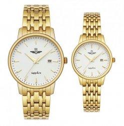 Đồng hồ cặp đôi SRWATCH SR1072.1402TE trắng