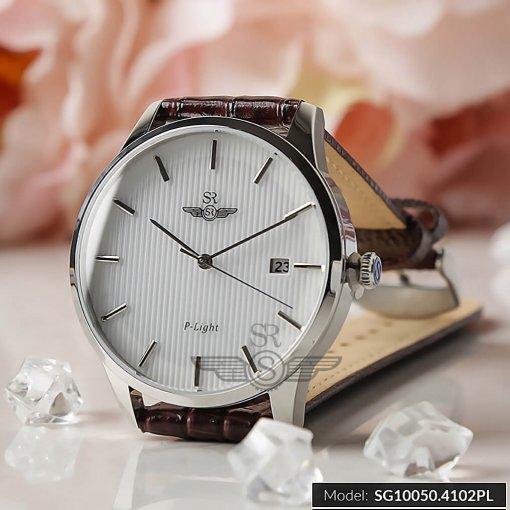 Đồng hồ nam SRWATCH SG10050.4102PL trắng-1