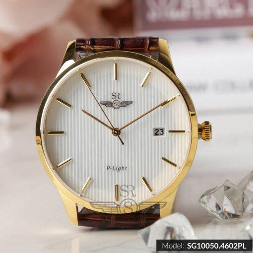 Đồng hồ nam SRWATCH SG10050.4602PL trắng-1