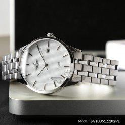 Đồng hồ nam SRWATCH SG10051.1102PL trắng-1