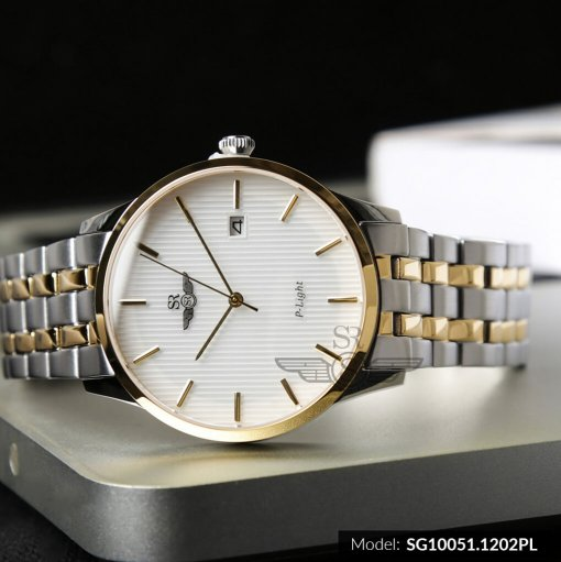 Đồng hồ nam SRWATCH SG10051.1202PL trắng-1