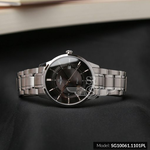 Đồng hồ nam SRWATCH SG10061.1101PL đen-2