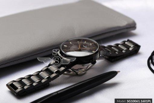 Đồng hồ nam SRWATCH SG10061.1601PL đen-2
