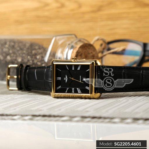 Đồng hồ nam SRWATCH SG2205.4601 đen chính hãng