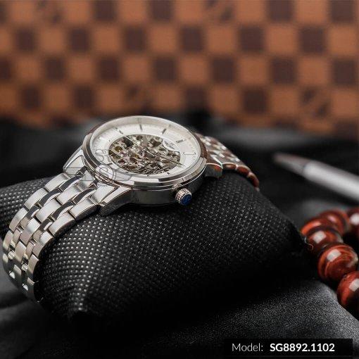 Đồng hồ nam SRWATCH SG8892.1102 trắng-2