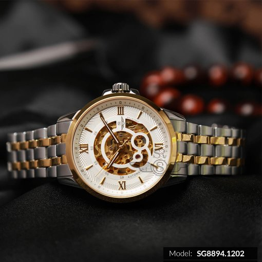 Đồng hồ nam SRWATCH SG8894.1202 trắng -2