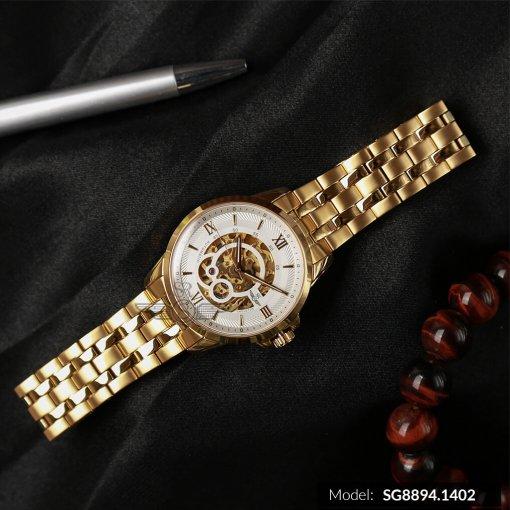 Đồng hồ nam SRWATCH SG8894.1402 trắng-1