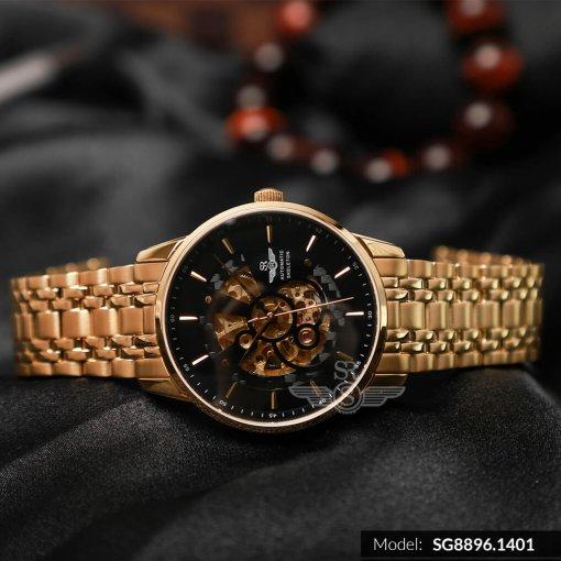 Đồng hồ nam SRWATCH SG8896.1401 đen-2