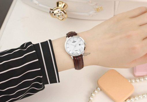 Đồng hồ nữ SRWATCH SL10050.4102PL trắng-3