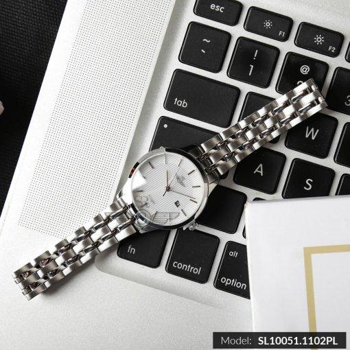 Đồng hồ nữ SRWATCH SL10051.1102PL trắng-2