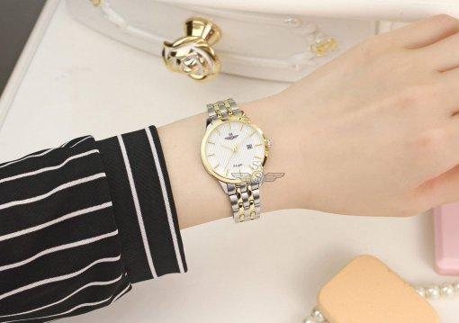 Đồng hồ nữ SRWATCH SL10051.1202PL trắng-3