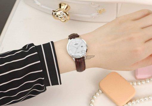 Đồng hồ nữ SRWATCH SL10060.4102PL trắng-3