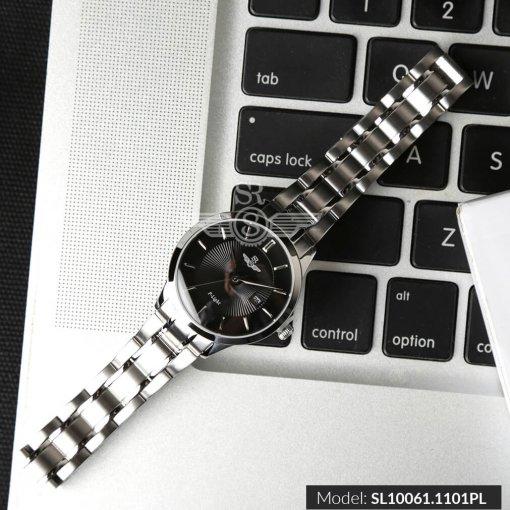 Đồng hồ nữ SRWATCH SL10061.1101PL đen-1