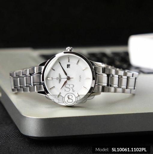 Đồng hồ nữ SRWATCH SL10061.1102PL trắng-2