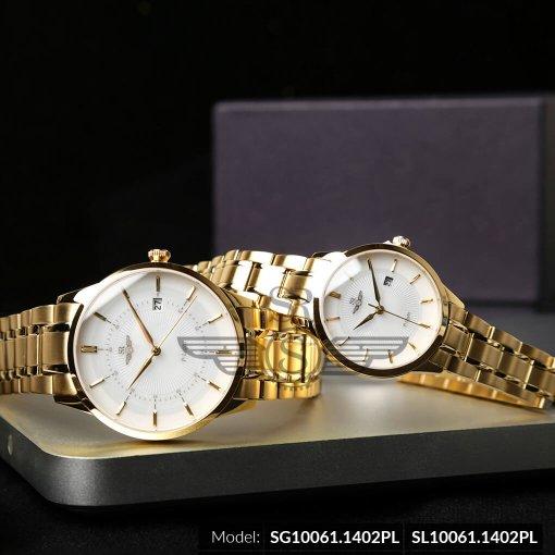Đồng hồ nữ SRWATCH SL10061.1402PL trắng-1
