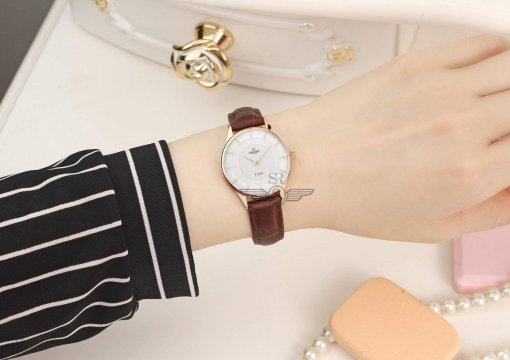 Đồng hồ nữ SRWATCH SL10070.4902PL trắng-3