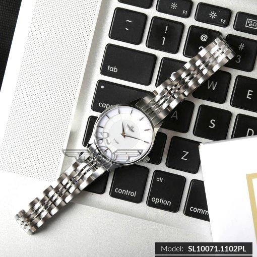 Đồng hồ nữ SRWATCH SL10071.1102PL trắng-1