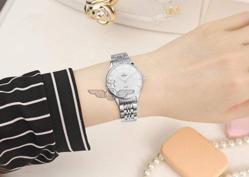 Đồng hồ nữ SRWATCH SL10071.1102PL trắng-3