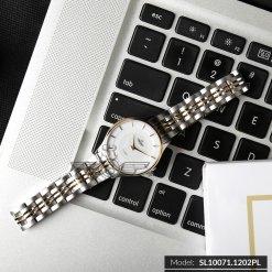 Đồng hồ nữ SRWATCH SL10071.1202PL trắng-1