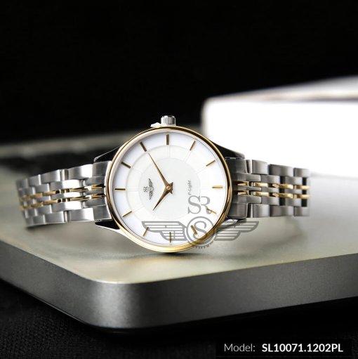 Đồng hồ nữ SRWATCH SL10071.1202PL trắng-2