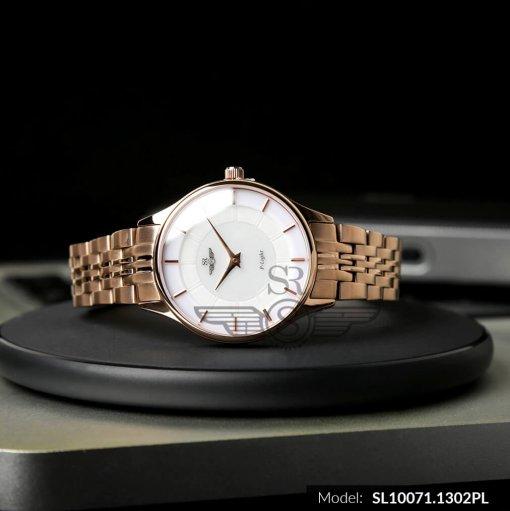 Đồng hồ nữ SRWATCH SL10071.1302PL trắng-2