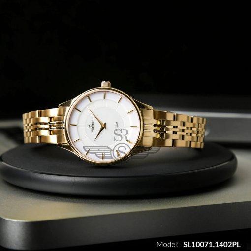 Đồng hồ nữ SRWATCH SL10071.1402PL trắng-2