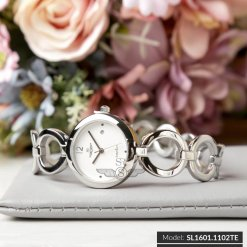 Đồng hồ nữ SRWATCH SL1601.1102TE TIMEPIECE trắng-1