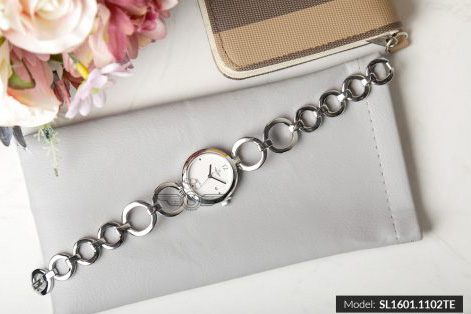 Đồng hồ nữ SRWATCH SL1601.1102TE TIMEPIECE trắng-2