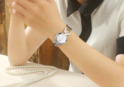 Đồng hồ nữ SRWATCH SL1601.1102TE TIMEPIECE trắng-3
