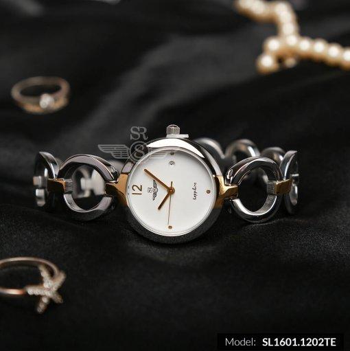 Đồng hồ nữ RWATCH SL1601.1202TE TIMEPIECE trắng-1