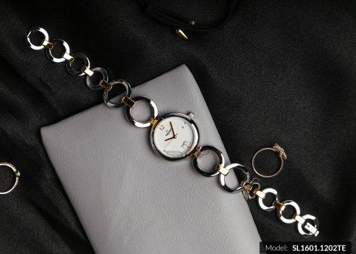 Đồng hồ nữ RWATCH SL1601.1202TE TIMEPIECE trắng-2