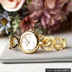 Đồng hồ nữ SRWATCH SL1601.1402TE TIMEPIECE trắng-2