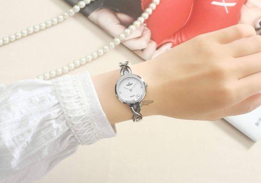 Đồng hồ nữ SRWATCH SL1602.1102TE TIMEPIECE trắng-3