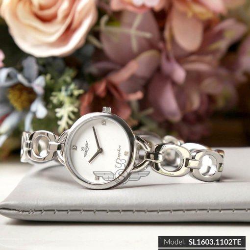 Đồng hồ nữ SRWATCH SL1603.1102TE TIMEPIECE trắng-1