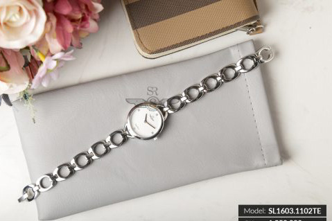 Đồng hồ nữ SRWATCH SL1603.1102TE TIMEPIECE trắng-2