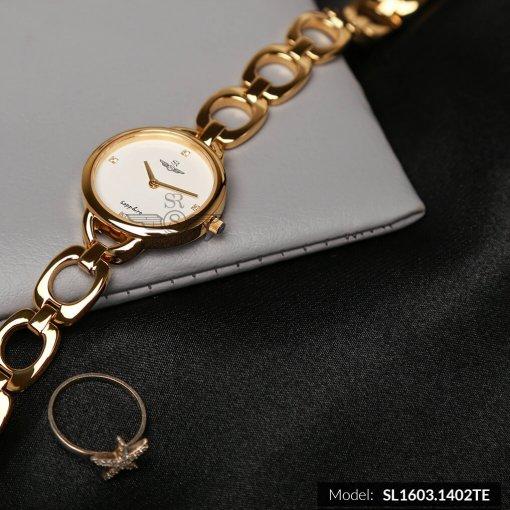 Đồng hồ nữ SRWATCH SL1603.1402TE TIMEPIECE trắng-2