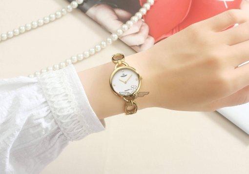 Đồng hồ nữ SRWATCH SL1603.1402TE TIMEPIECE trắng-3
