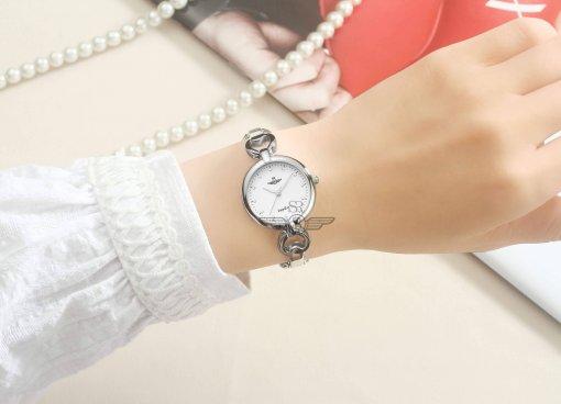 Đồng hồ nữ SRWATCH SL1604.1102TE TIMEPIECE trắng-3