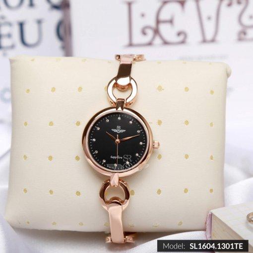 Đồng hồ nữ SRWATCH SL1604.1301TE TIMEPIECE đen-1