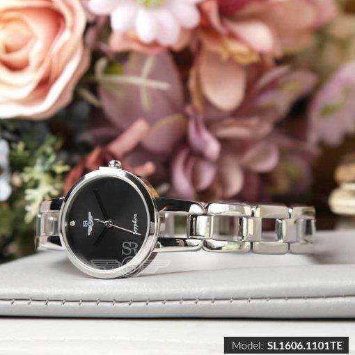 Đồng hồ nữ SRWATCH SL1606.1101TE TIMEPIECE đen-1