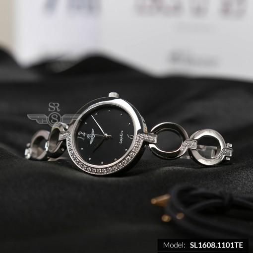 Đồng hồ nữ SRWATCH SL1608.1101TE TIMEPIECE đen-1