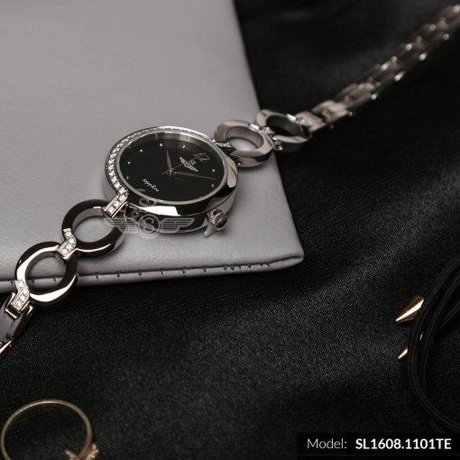 Đồng hồ nữ SRWATCH SL1608.1101TE TIMEPIECE đen-2