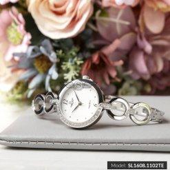 Đồng hồ nữ SRWATCH SL1608.1102TE TIMEPIECE trắng-1