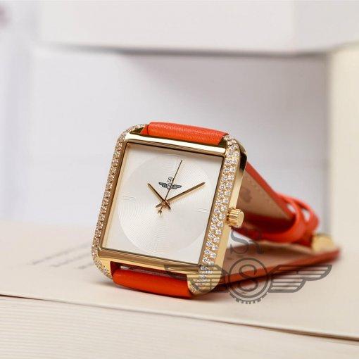 Đồng hồ nữ SRWATCH SL2203.4402 trắng đẹp