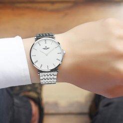 Đồng hồ nam SRWATCH SG8702.1102 trắng - 2