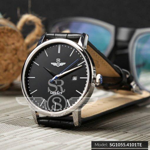 Đồng hồ nam Srwatch SG1055-4101TE Timepiece đen chính hãng