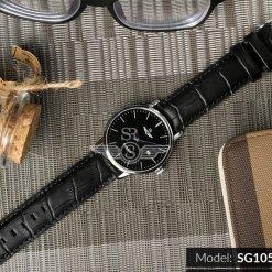 Đồng hồ nam Srwatch SG1055-4101TE Timepiece đen thương hiệu Nhật Bản