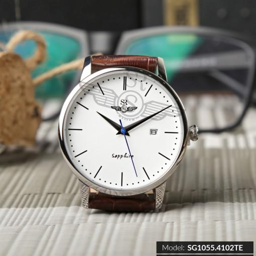 Đồng hồ nam Srwatch SG1055-4102TE trắng chính hãng